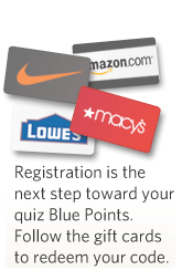 Your quiz Blue Points