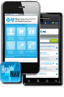 HealthNAV App for iPhone and Android