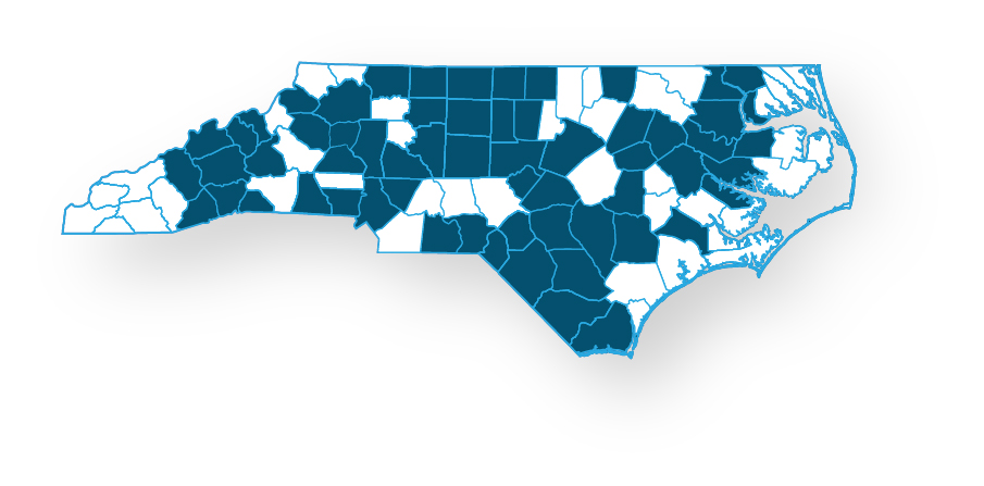 Blue Medicare PPO Enhanced Coverage Map