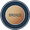 metallic level bronze